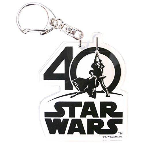 STAR WARS アクリル キーチェーン 40TH ロゴ SW4AP494