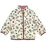 アスナロ(ジャンパー・コート) アンパンマン ジャケット キッズ 子供 リバーシブル 収納袋付き110 アイボリー