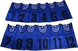 K sera sera ナンバー ビブス 6枚セット 12枚セット 「持ち運び便利な 収納バッグ 付き」 フットサル バスケ サッカー