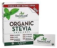 SweetLeaf - 有機ステビア甘味料 - 35パケット