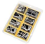 ATOMU 知恵の輪 チャイニーズリング パズル 玩具 8個 (イエロー)