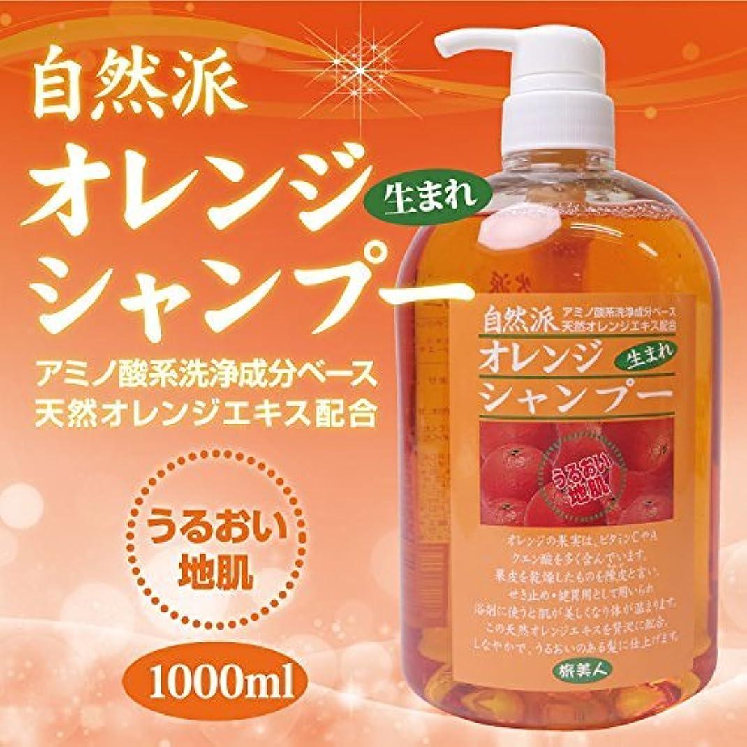 雰囲気適切なツーリストアズマ商事の 自然派 オレンジシャンプー 1000ml