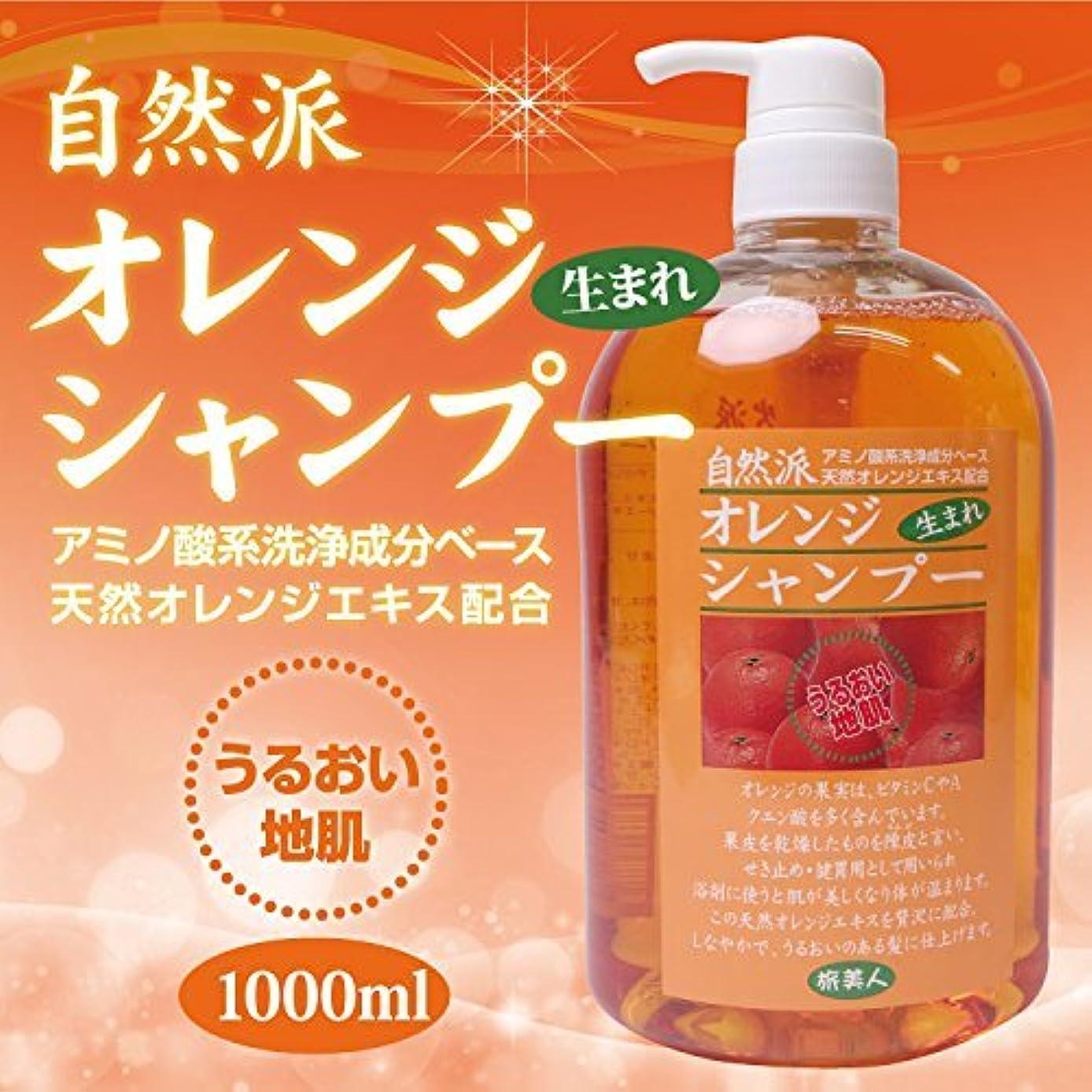 禁止する空中製作アズマ商事の 自然派 オレンジシャンプー 1000ml