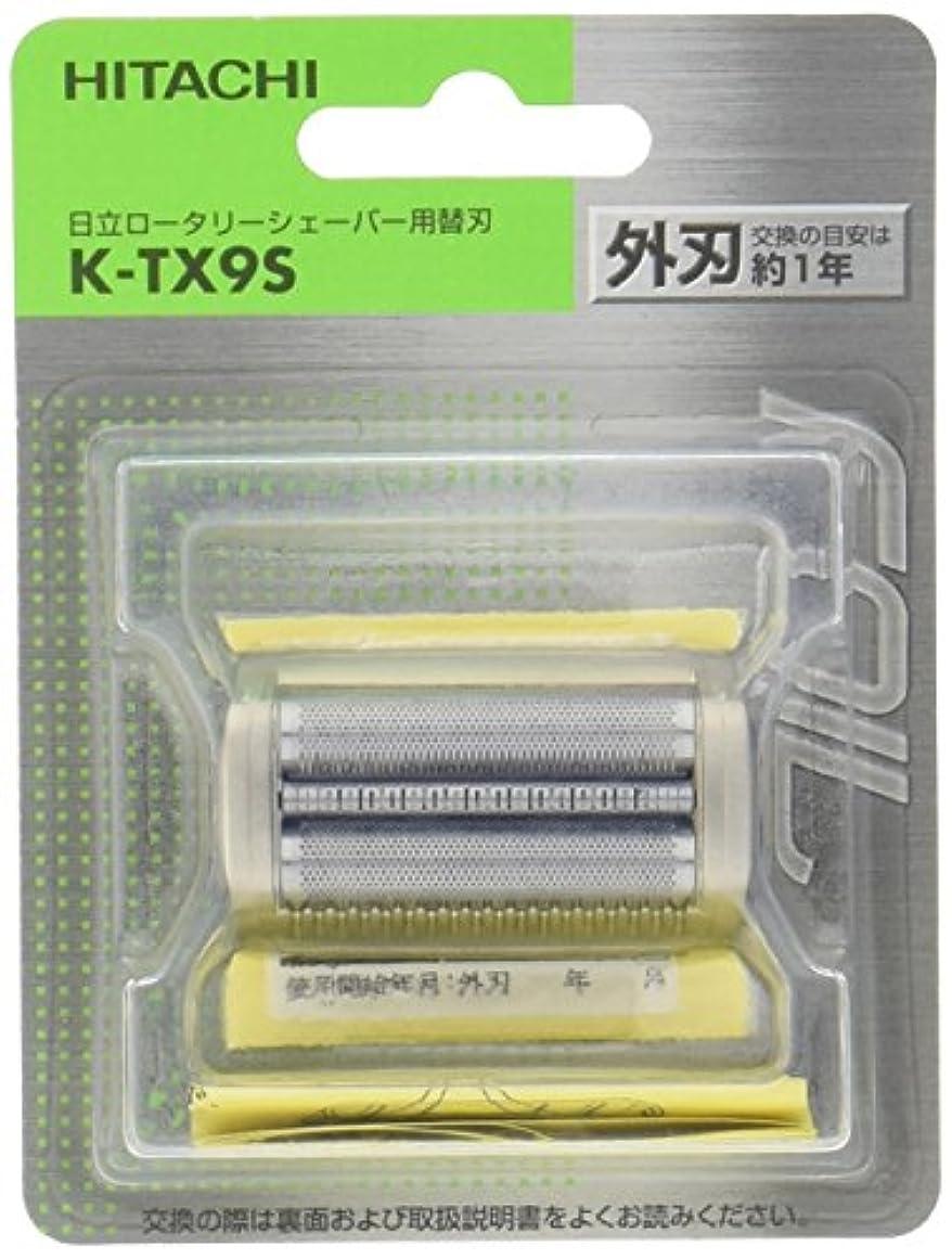 まっすぐにする破滅アナロジー日立 替刃 外刃 K-TX9S
