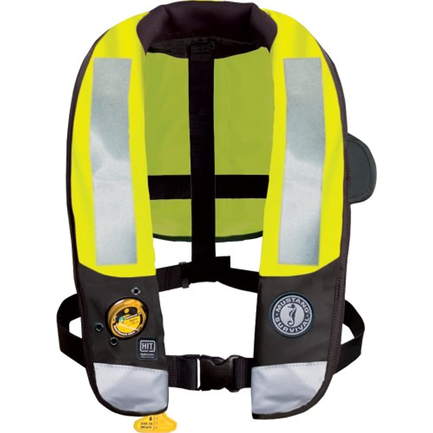 Mustang md3183 t3 High Visibility Inflatable PFD w /ヒット