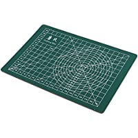 ノーブランド品 全3色選べる A5サイズ プロフェッショナル 修復 カッティング マット 工芸 - 緑