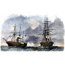 Civil War: Trent Affair, 1861. /Nthe Capture Of The British Steamer, Trent, By The U.S.S. San Jacinto In The Bahama Channel, November 8, 1861. Color Engraving From A Contemporary English Newspaper. Poster Print by (24 x 36)