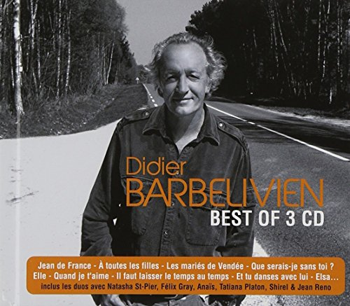 Best of 3 CD-Didier Barbelivien