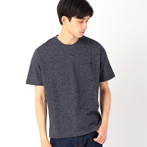 (コムサ イズム) COMME CA ISM ボーダーTシャツ 47-64TF26-108 M ネイビー