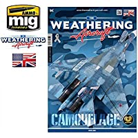 AmmoのMig - TWA The Weathering航空機Magazine Issue。6迷彩英語# 5206