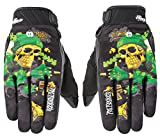 Joe Rocket Airtimeジョー・メンズDestroyオートバイ手袋 XX-Large グリーン 1612-1406