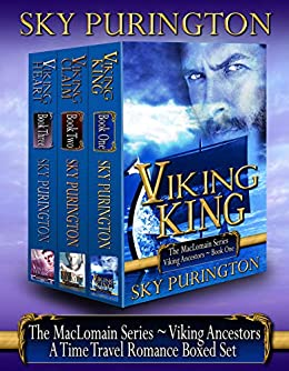 The MacLomain Series: Viking Ancestors (Books 1, 2 and 3)- A Time Travel Romance Boxed Set by [Purington, Sky]