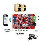 INSMA TDA7492p 無線bluetooth 音声受信機 デジタルアンプボード アンプ基板モジュール CSR4.0 デジタルオーディオ・レシーバアンプボード 25x25w