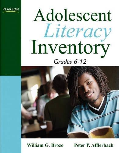 Download Adolescent Literacy Inventory, Grades 6-12 0205569994