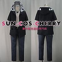 【サイズ選択可】コスプレ衣装 V-549 カゲロウプロジェクト カノ 鹿野 修哉 かの しゅうや 女性Lサイズ