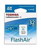 TOSHIBA(東芝) 無線LAN搭載SDHCカード FlashAir W-03 [32GB] Class10 SD-R032GR7AL03A [並行輸入品]