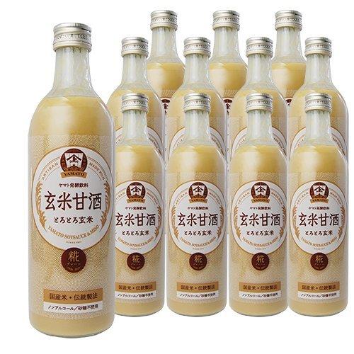 ヤマト醤油味噌 玄米甘酒(げんまいあまざけ 490ml 12...