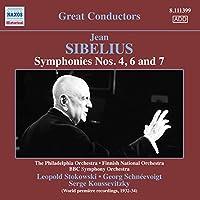 Sibelius: Symphonies 4, 6 & 7