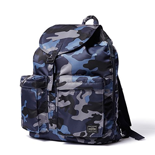 (ヘッド・ポーター) HEADPORTER JUNGLE RUCK SACK (L) DARK NAVY