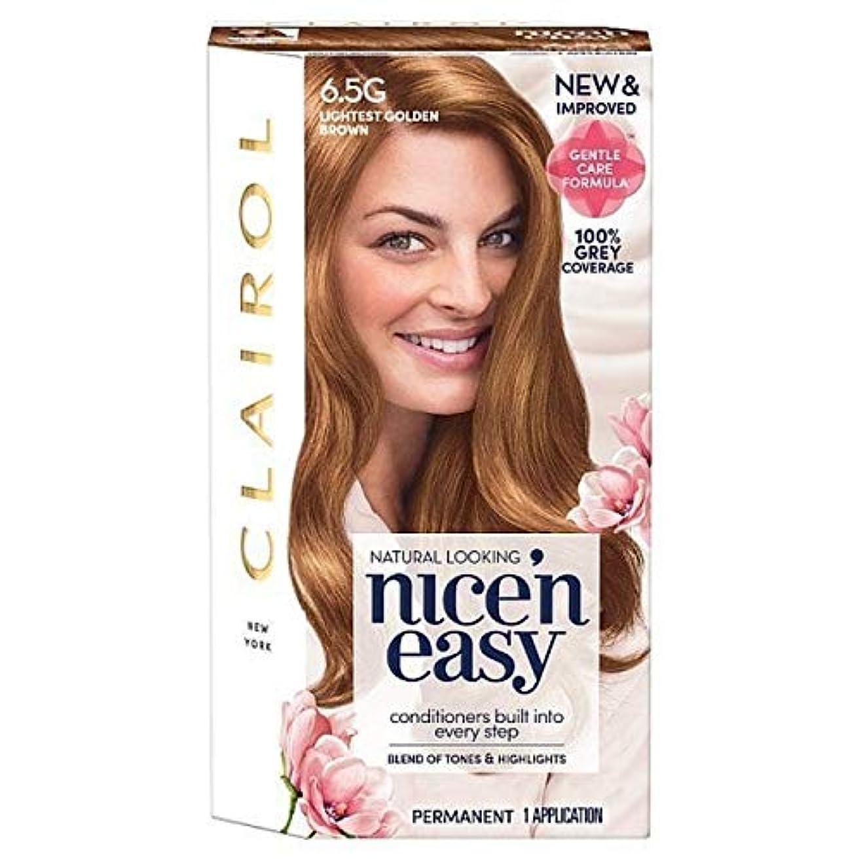 ナチュラルご意見お別れ[Nice'n Easy] Nice'N簡単に6.5グラム軽いゴールデンブラウン - Nice'n Easy 6.5G Lightest Golden Brown [並行輸入品]