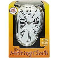 """Horloge fondue chiffres romains """"Salvador Dali"""" à poser sur un rebord"""