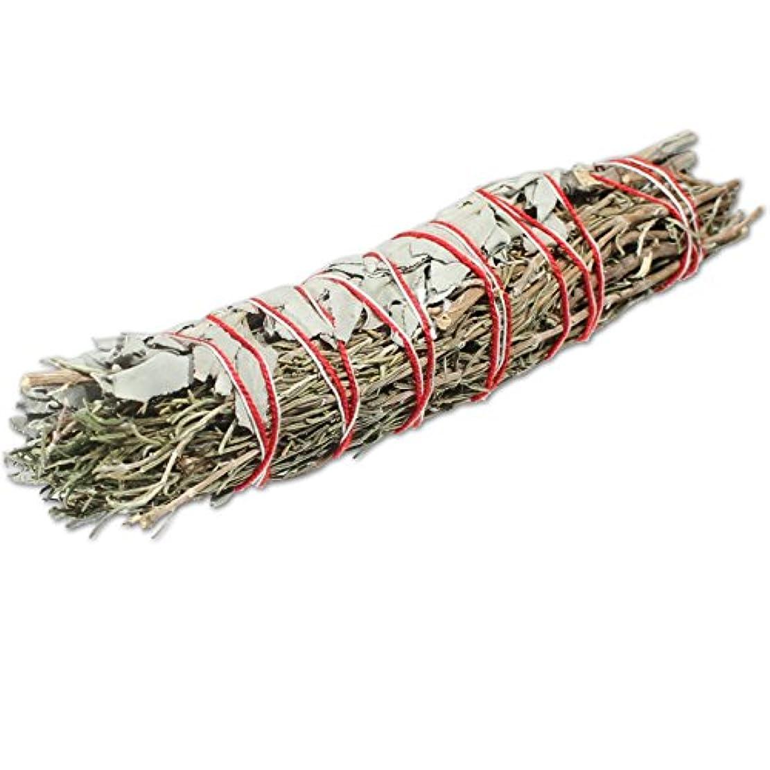 トリムにじみ出る専らホワイトセージ&ローズマリーSmudge Sticks 4で。