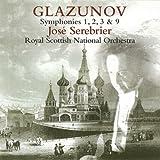 グラズノフ:交響曲第1,2,3,9番