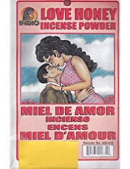 Love Honey Incense Powder – Miel de Amor Incienso Encens Miel dの世紀からハイビスカス柄Express