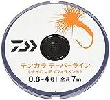 ダイワ(Daiwa) ナイロンライン テンカラ テーパー 7m×2本 0.8-4号 イエロー