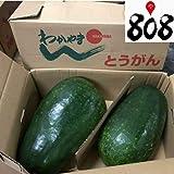 【和歌山県産】訳あり 冬瓜 大きさおまかせ 1箱 約10~12kg