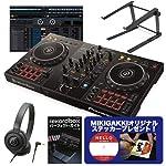 Pioneer DJ パイオニア DDJ-400 DJコントローラー + ヘッドホン + スタンド + ガイドBOOK DJセット