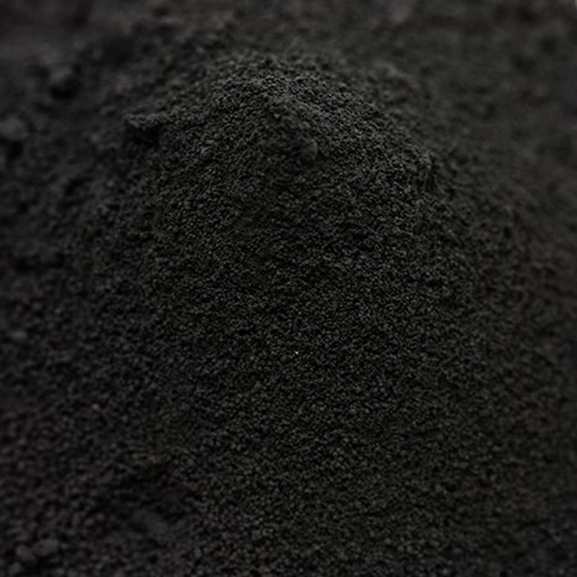 検出する操る混沌竹炭パウダー(超微粉末) 50g 【手作り石鹸/手作りコスメに】
