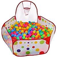 ボールテント幼児用インドアアウトドアキッズPop Up Play House Pitプールキッズ – About 500 Balls