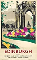 Edinburghヴィンテージポスター(アーティスト: Mason ) UK C。1930 9 x 12 Art Print LANT-74138-9x12