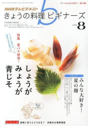 NHK きょうの料理ビギナーズ 2013年 08月号 [雑誌]の詳細を見る