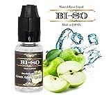 BI-SO ビソー 正規品 電子タバコ リキッド ジュース フレーバー 国産ブランド Green Apple Menthol ( 15ml )