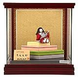柿沼東光 雛人形 木目込み人形 ケース飾り 柿沼東光作 うららか 間口29×奥行28×高さ29cm h263-mi-kt3-79-1560
