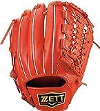 ZETT(ゼット) 硬式野球 プロステイタス グラブ (グローブ) サード用 ディープオレンジ(5800) 右投げ用 BPROG450