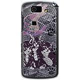 CaseMarket 【ポリカ型】 au AQUOS PHONE SL IS15SH ポリカーボネート素材 ハードケース [ Cat ウォールペーパー ネイビー ]