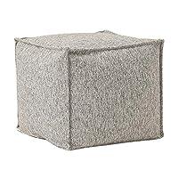 スツールシンプルなスクエアファブリックコーヒーテーブルスツール寝室リビングルームの変更シューズベンチペダルシート WEIYV (色 : Gray, サイズ さいず : 45*45*40cm)
