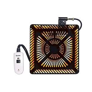 メトロ ハロゲン600W手元電動コントローラー式温風 MHU600E-NK 950886