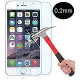 Niccou™ Apple iPhone6S / 6 用 ナノ 強化ガラス 液晶保護フィルム 高鮮明・防爆裂・スクラッチ防止・気泡ゼロ等機能 硬度9H( ※iPhone6S Plus / 6 Plus用ケースの在庫もある)