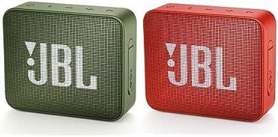 JBL GO2 Bluetoothスピーカー IPX7防水/ポータブル/パッシブラジエーター搭載 グリーン JBLGO2GRN 【国内正規品/メーカー1年保証付き】 &  GO2 Bluetoothスピーカー...