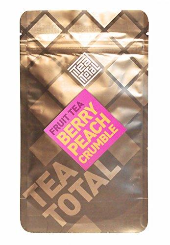 Total Tea total ティートータル ベリー ピーチ クランブル 30g入り袋タイプ ニュージーランド産 フルーツティー フレーバーティー ノンカフェイン ドライフルーツ