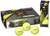 【US仕様】スリクソン Z-STAR XV ゴルフボール (12個入) 2013年モデル TOUR YELLOW
