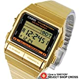CASIO カシオ DATA BANK データバンク ユニセックス 腕時計 DB-380G-1DF ゴールド 海外モデル 並行輸入品 [時計] [時計]