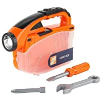 The Home Depot - 4 Piece Light Box Tool Pack Exclusive Flashlight by Home Depot