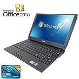【Microsoft Office2010搭載】【Win 7搭載】DELL E4200/新世代Core 2 Duo 1.6GHz/メモリー3GB/SSD 128GB/12インチ/無線搭載/中古ノートパソコン (新品外付けDVDスーパーマルチドライブ付き)