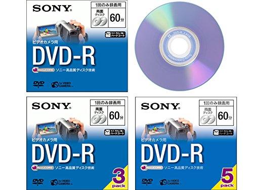 SONY ビデオカメラ用DVD-R(8cm) 3枚パック 3...