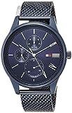 [トミーヒルフィガー] 腕時計 DAMON 1791872 メンズ ブルー [並行輸入品]